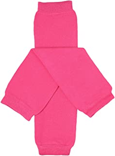 juDanzy Solid Hot Pink Baby Girls and Toddler Leg Warmers
