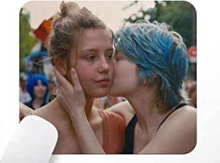 Muismat Blue is The Warmest Color, La Vie d'Adèle muismat antislip op rubberen basis, 24 x 20 cm