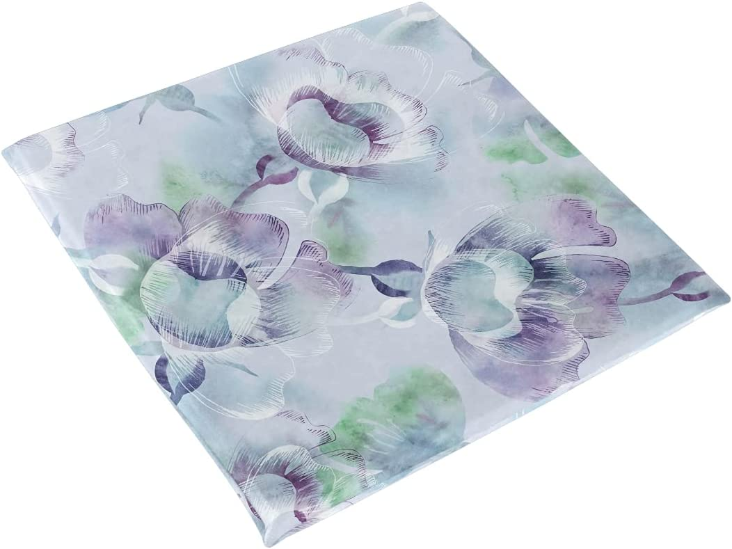 xigua Seat Cushion Watercolor Summer Re Flowers Chair Pads 35% OFF ...