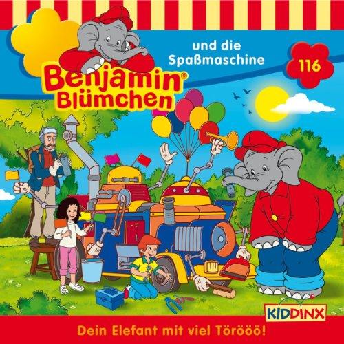 Benjamin und die Spaßmaschine audiobook cover art