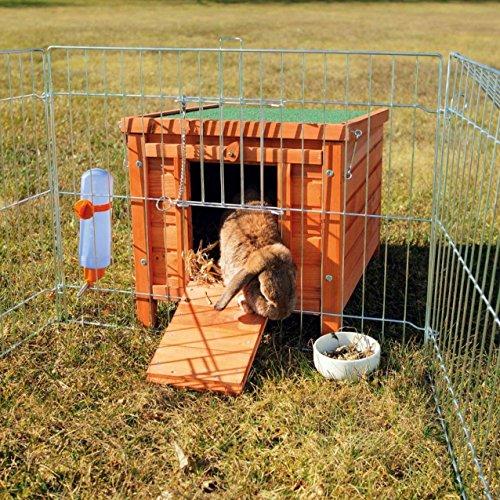 Trixie 62391 natura Kleintierhaus, Kaninchen, 42 × 43 × 51 cm - 3