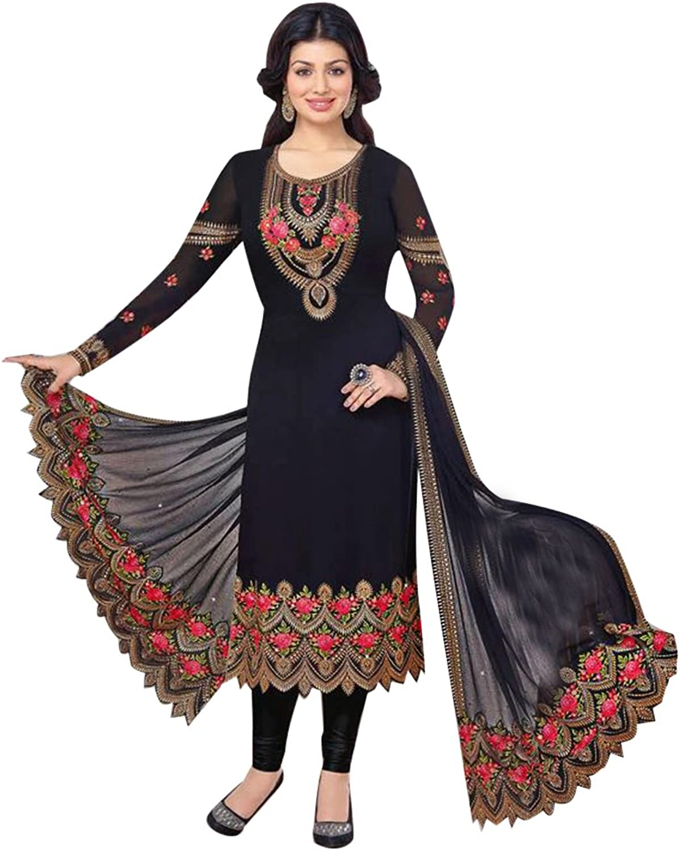 Bollywood Straight Dresses for women Salwar Kameez Ceremony Wedding 907 5