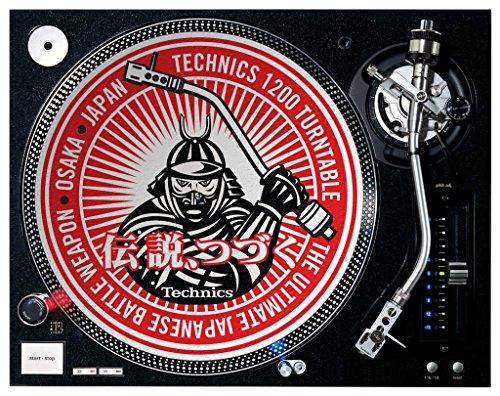 Technics Samurai DJ Slipmats