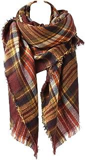 Large Tartan Fashion Women Scarf Lovely Best Gift Scarf Wrap Shawl