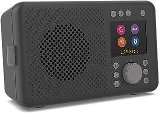 Pure Elan Connect Portable DAB Radio with Internet Radio & Bluetooth - Charcoal