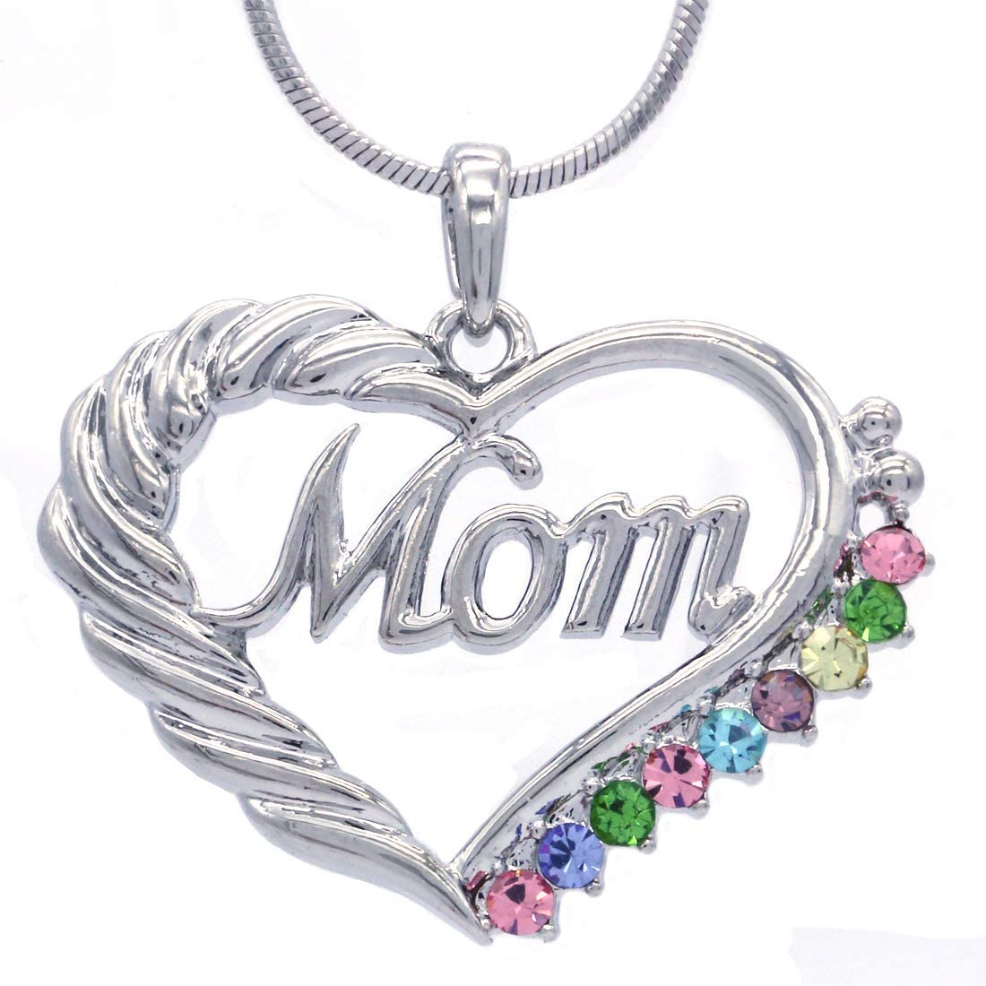 Soulbreezecollection Ranking TOP20 Mothers Day Mom Love Pendant Max 76% OFF Necklace Heart