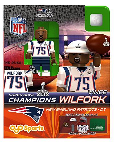 Vince Wilfork OYO NFL New England Patriots G2 Series 4 Super Bowl XLIX Champions Mini Figure Limited Edition