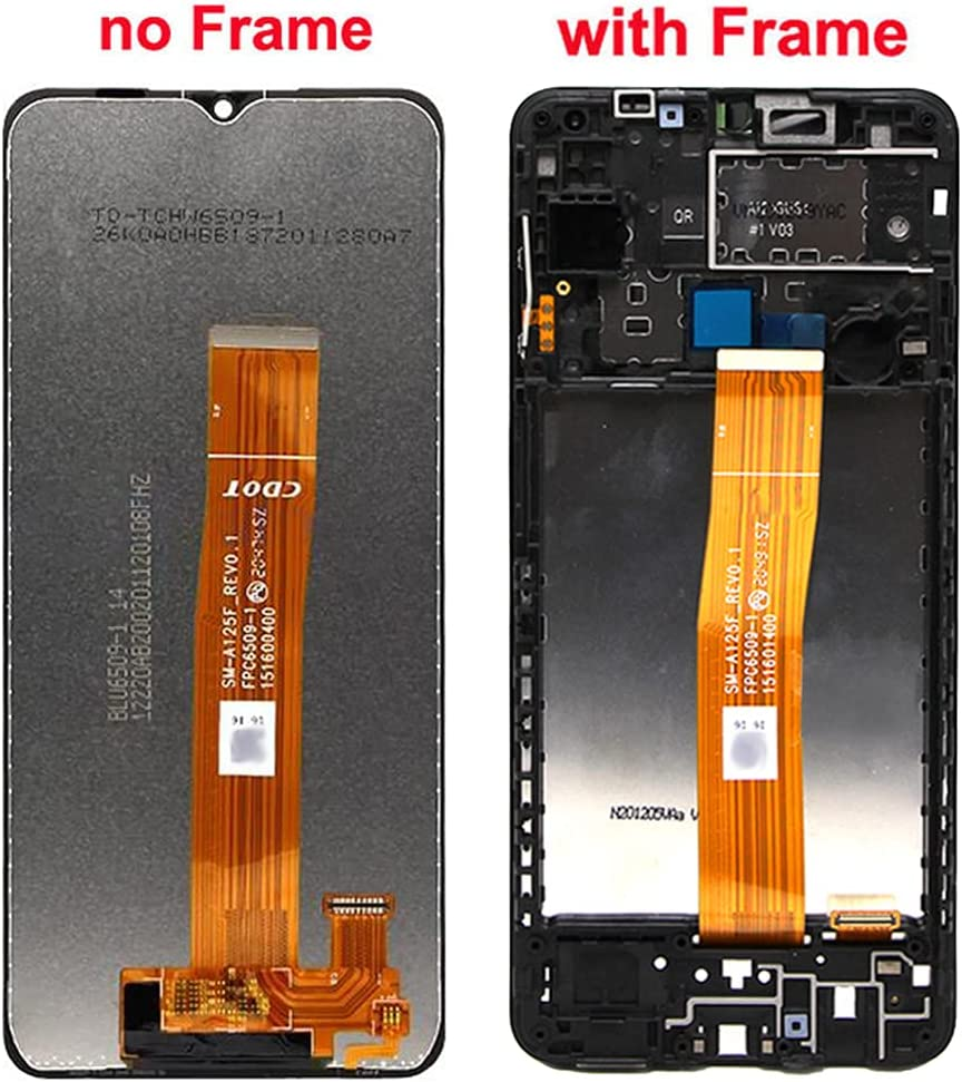 LCD Screen Replacement Compatible with Galaxy A12 A125M SM-A125F/DSN, SM-A125F/DS, SM-A125F 6.5