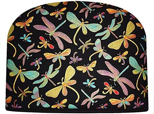 San Diego Mall Blue Moon Tea Cozy Insulated Luxury Double Dragonfly Large