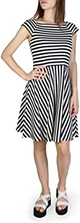 A|X Armani Exchange Women's Stripe Fit and Flare Dress