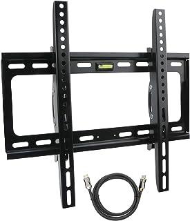 JIUWU TV Wall Mount Bracket Fit for Most 26-55 Inches TVs LED,LCD,OLED& Plasma Flat Screen TV Bracket, Max VESA 400mm with...