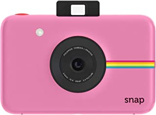 Polaroid Snap Instant Digital Camera (Pink) with ZINK Zero Ink Printing Technology