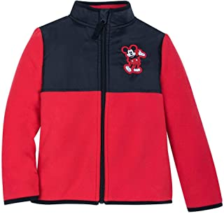 Disney Mickey Mouse Pieced Fleece Jacket for Kids - Multi