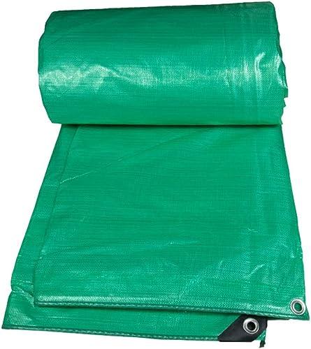 CAOYU Bache épaisse Double-Face résistant à la Pluie Camion résistant au Froid Hangar Tissu en Plein air écran Solaire crème Solaire Tissu résistant à l'usure en Plastique, Vert