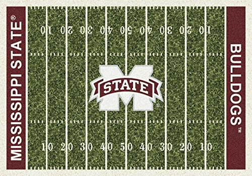 American Floor Mats Mississippi State Bulldogs NCAA College Home Field Team Area Rug 10