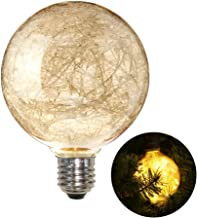LEDMOMO G W Led Globe Bulb Filat Copper Wire Edison Bulb Holiday Lights Decor As Shown