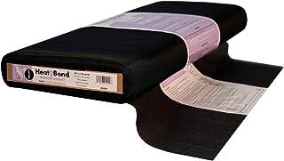 "Thermoweb Q2429 Heat'n Bond Tricot Medium Weight Fusible, 20"" x 25 yd, Black"
