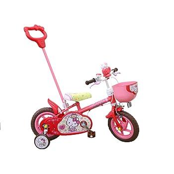 子供用自転車 12インチ ハローキティ 補助輪付 カジキリ機能搭載