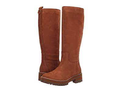 Timberland Courmayeur Valley Tall Boot (Medium Brown Nubuck) Women
