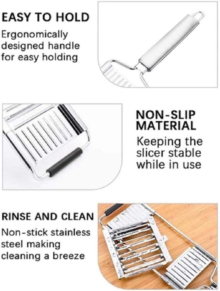 Multi-Purpose Vegetable Slicer,Stainless Steel Manual Vegetable ...