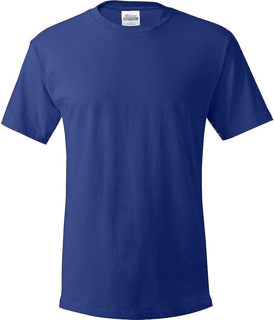 Hanes Men's ComfortSoft T-Shirt, Royal Blue, 2XL