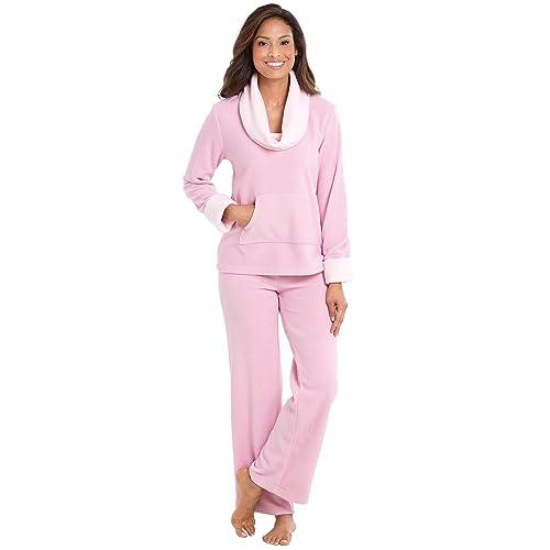 PajamaGram Super Soft Pajamas Women - Fleece 2bb45f8c8