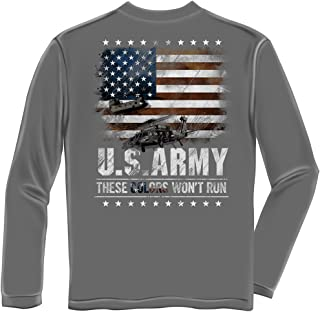 Erazor Bits Tactical Shirt| Army These Color Don't Run Long Sleeve Shirt MM162LS