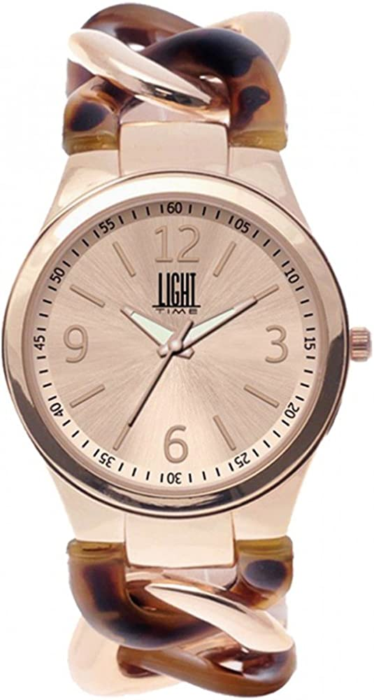 Light time, orologio per donna, in acciaio inossidabile e metallo 8054726935704