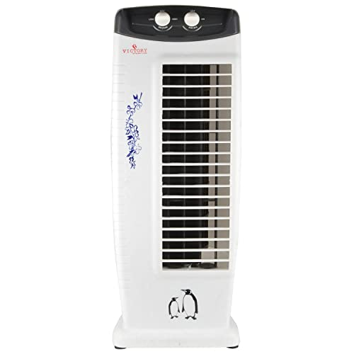 Smart Traders 5 Star Ratings Cool Breeze Tower Fan (White)
