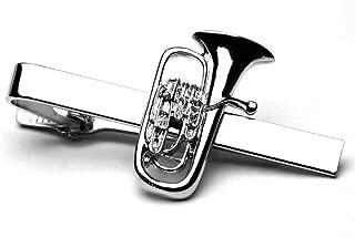 Euphonium Silver-plated Tie Bar/Clip/Slide