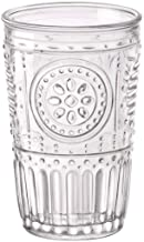 Bormioli Rocco Romantic Water Glass [Set Of 4]   10.25 oz Premium Glass Set For Refreshments, Soda & Beverages   Italian Quality Glassware, Perfect For Dinner Parties, Bars & Restaurants