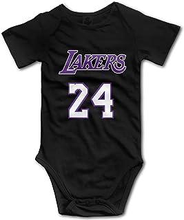 BEEPBOOP Kobe-Bryant Baby Outfits Short Sleeve T-Shirt Bodysuit – Kids Hooded Romper for 0-24 Months