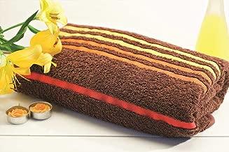 Portico York Tiara Cotton Bath Towel - Brown