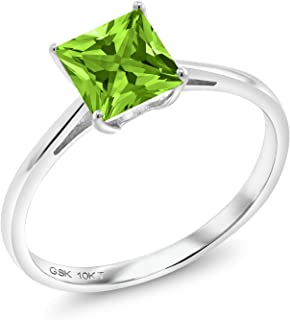 Best peridot engagement rings white gold Reviews