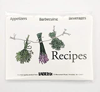 Recipe Card Divider 3-by-5-Inch Set