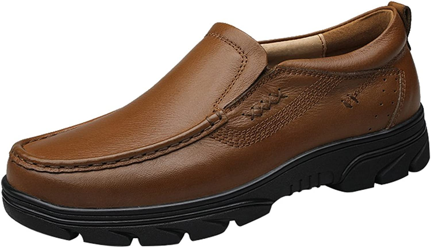 Salabobo FJQY-9388-J New Mens Casual Leather Leisure Comfy Smart Bussiness shoes
