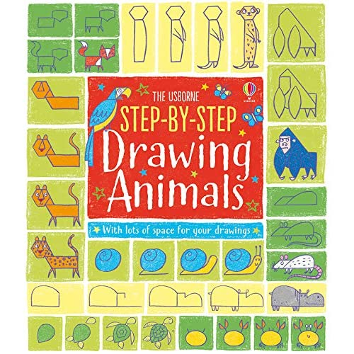 Usborne Step by Step Drawing Animals