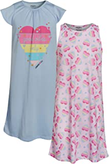 Limited Too Girls Nightgown Summer Pajamas (2 Pack)