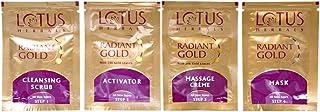 Lotus Gold Glow Facial Kit, 37 gm