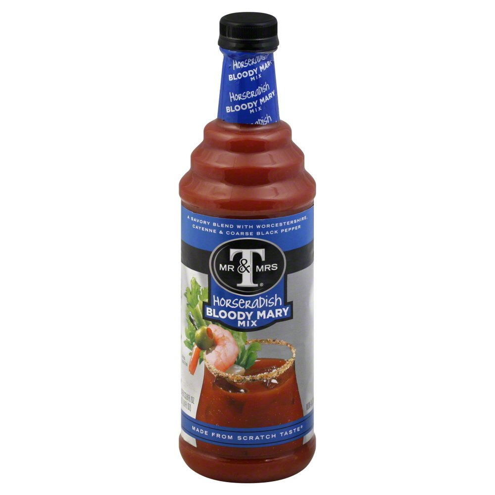Fresno Mall Mr Mrs T Horseradish Bloody Finally popular brand Mix Mary 6 Bottles