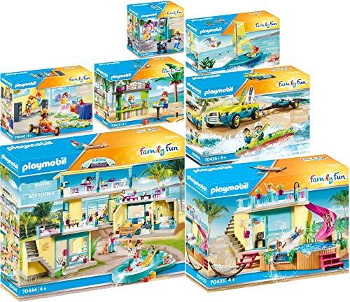 Playmobil® Family Fun 7er Set 70434 70435 70436 70437 70438 70439 70440 Beach Hotel Komplettset