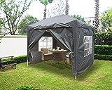 Greenbay 2.5x2.5M Pop-up Gazebo Outdoor Garden Party Tent Folding Gazebo with 4 x
