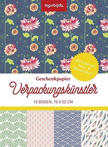 Verpackungskünstler - Design floral: Geschenkpapier (monbijou)