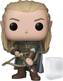 Funko Pop! Movies: The Lord of The Rings - Legolas Vinyl Figure (Includes Pop Box Protector Case)