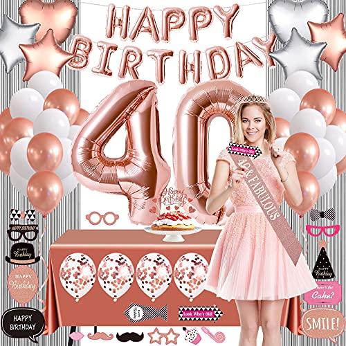 Cintas 40 Cumpleaños  marca