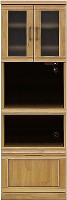 松尾木工(Matuo Mokkou) レンジボード ナチュラル 幅59.5×奥行45.3×高さ180cm レンジボード ナチュラル 291858