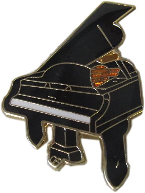 Procuffs Saxophone Music Base Musician Instrument Band Singer Lapel Pin Tack Tie