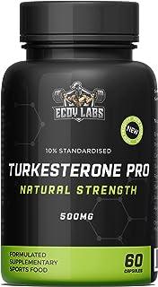 Turkesterone PRO 10% Standardised 60 Caps 500mg Ajuga Turkestanica Extract