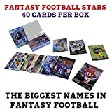 40 Fantasy Football Stars Card Collection + NFL Players include Rookies, Superstars, Veterans and Fantasy Football Heroes + GUARANTEED 2015 Fantasy Football ... rookie card picture