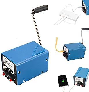 QZY Al Aire Libre 20W Manual De Manivela Generador De Bricolaje USB Eléctrico Dinamo Energía De Emergencia del Teléfono Ca...